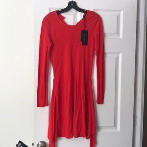 New! Rachel Zoe red dress